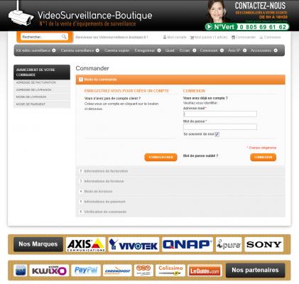 image page commande videosurveillance-boutique.fr