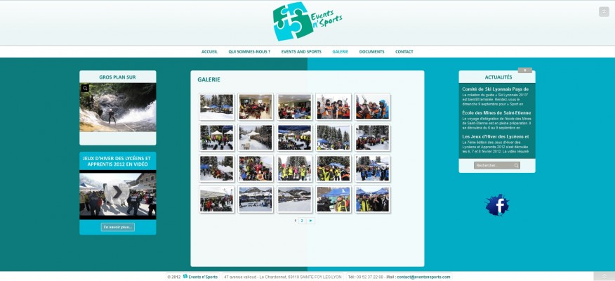 eventsnsports.galerie
